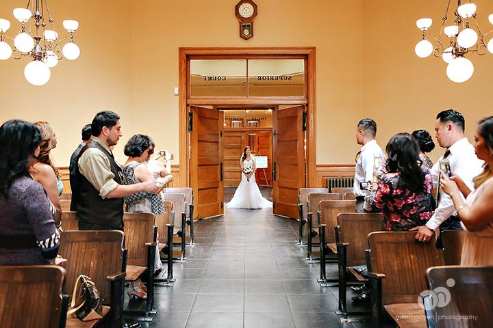 elyce chris wedding old orange county courthouse On courthouse wedding ceremony
